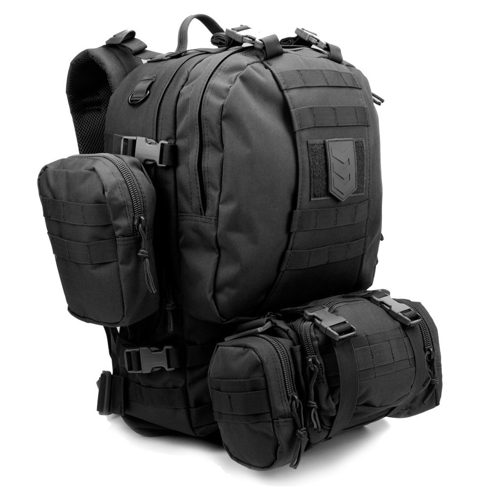 Paratus 3 Day Operator's Pack Military Style MOLLE Compatible Tactical Backpack