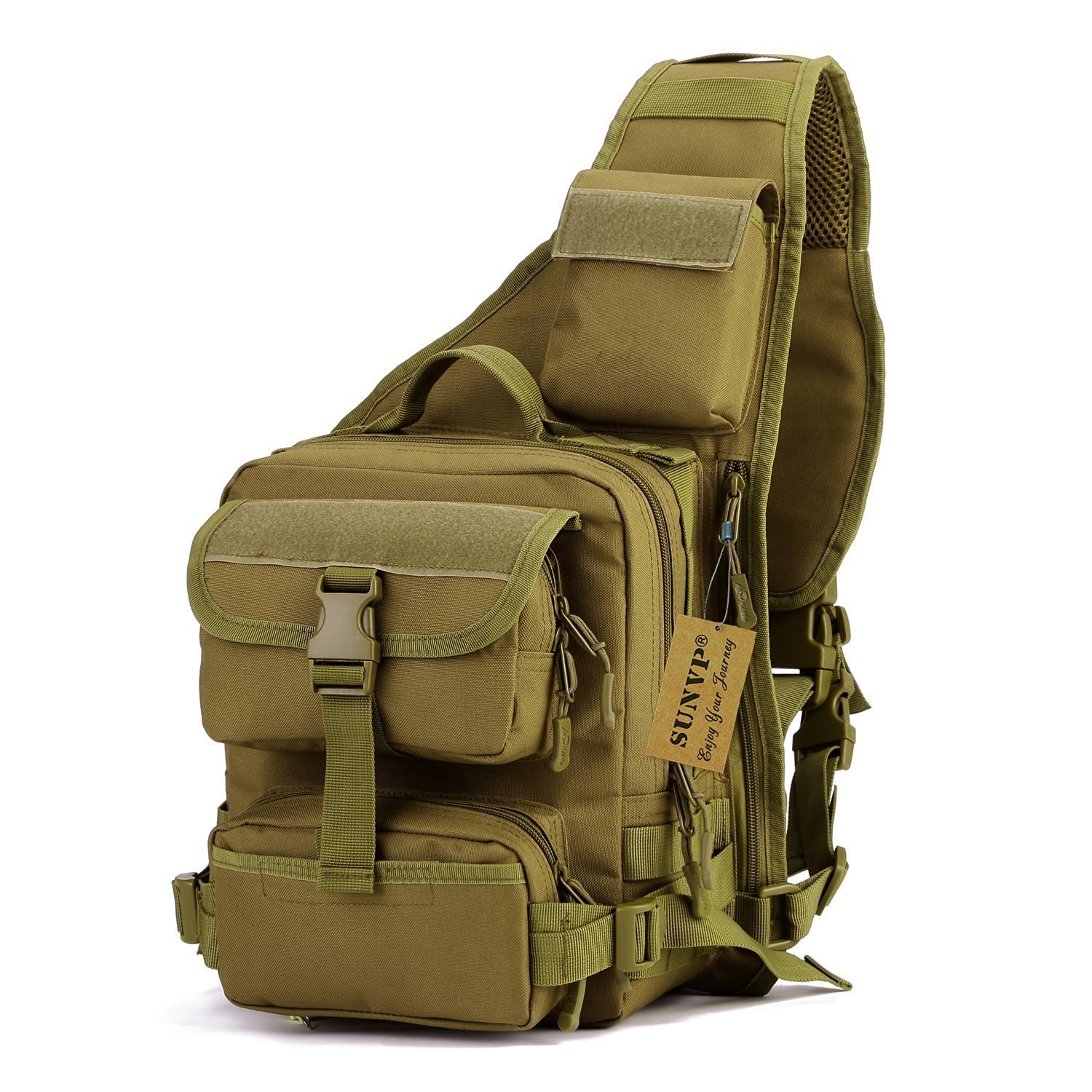 SUNVP Tactical Military Daypack Sling Chest Pack Bag
