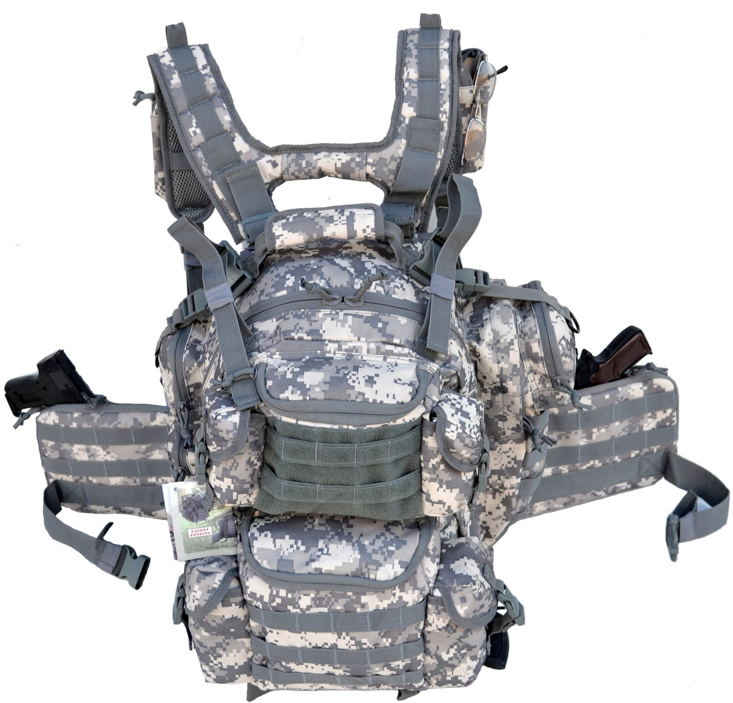 Tactical Gun Concealment Backpack