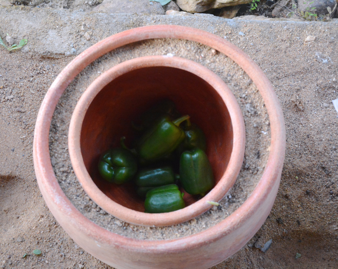 clay pot refrigarator