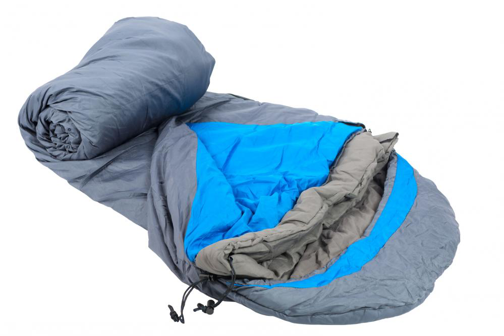 Unrolling sleeping bag