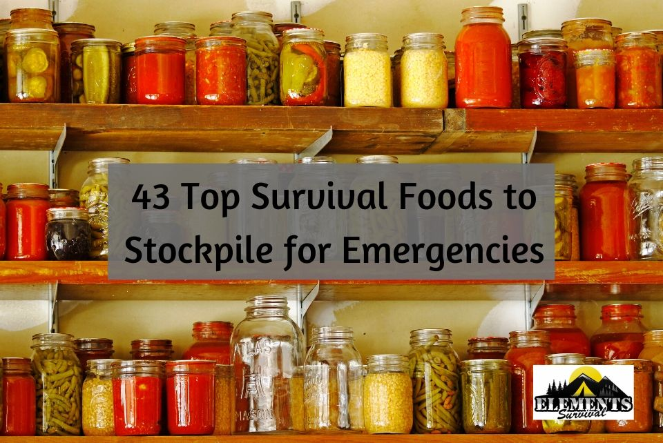 top survival foods to stockpile for emergencies